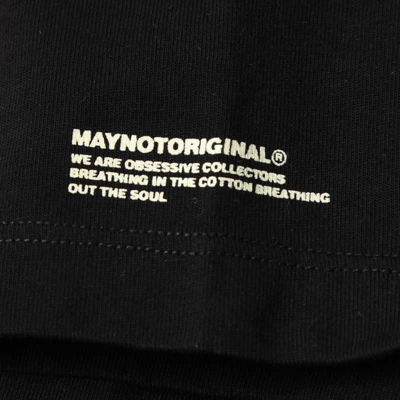 SIMWOOD & May Not Original 2019 verano nueva camiseta hombre diseño estampado moda ropa de calle alta calidad Camiseta Hombre 180265