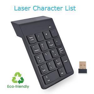 Image 2 - Teclado inalámbrico iMice, Mini teclado USB, teclado numérico, teclado numérico inalámbrico, teclado numérico para ordenador portátil