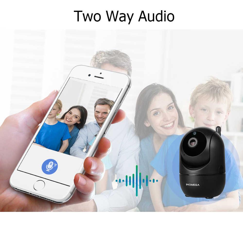 Inqmega HD 1080P Cloud IP Camera Cerdas Auto Tracking Manusia Rumah Keamanan Pengawasan CCTV Jaringan Wifi Kamera