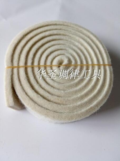 Piano Tuning Tools Piano Accessories Damper Stop Sound Band Australian Wool Pure White 4mm