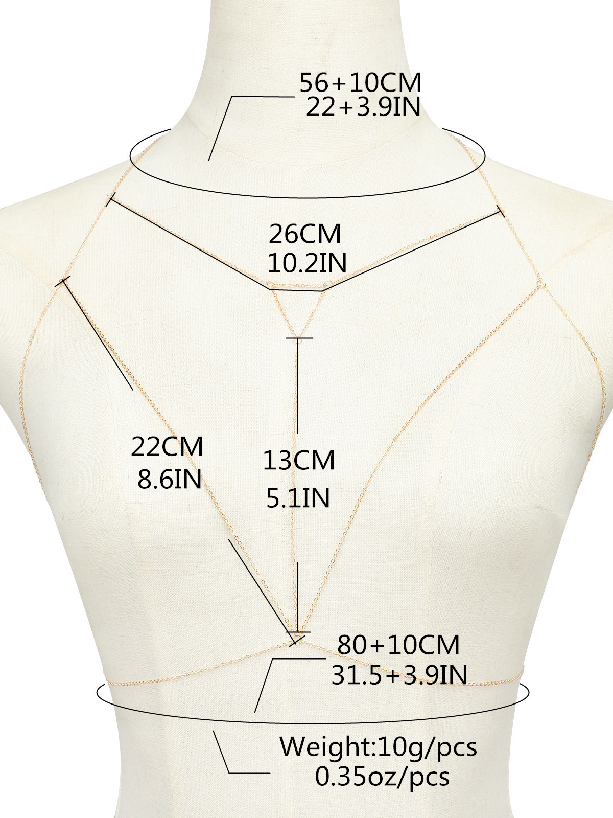 Casual Body Chain women Multilayer rhinestone Sexy gold Beach Bikini Harness for bra Bralette chain Straps accessories 1