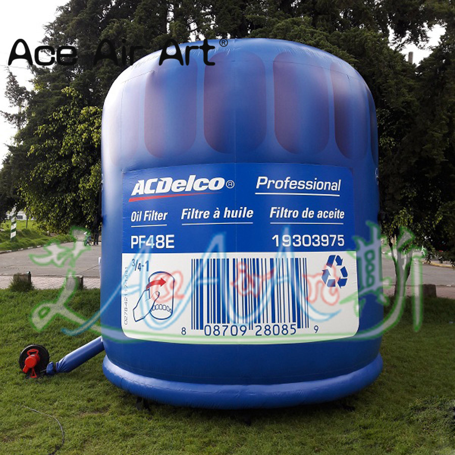 Giant inflatable filter replica/wave filter model come with air blower for advertising/promotion