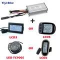 Контроллер для электрического велосипеда 36 в 48 в 350 Вт/500 Вт/750 Вт/1000 Вт/1500 Вт бесщеточный контроллер двигателя Электрический скутер с дисплее...