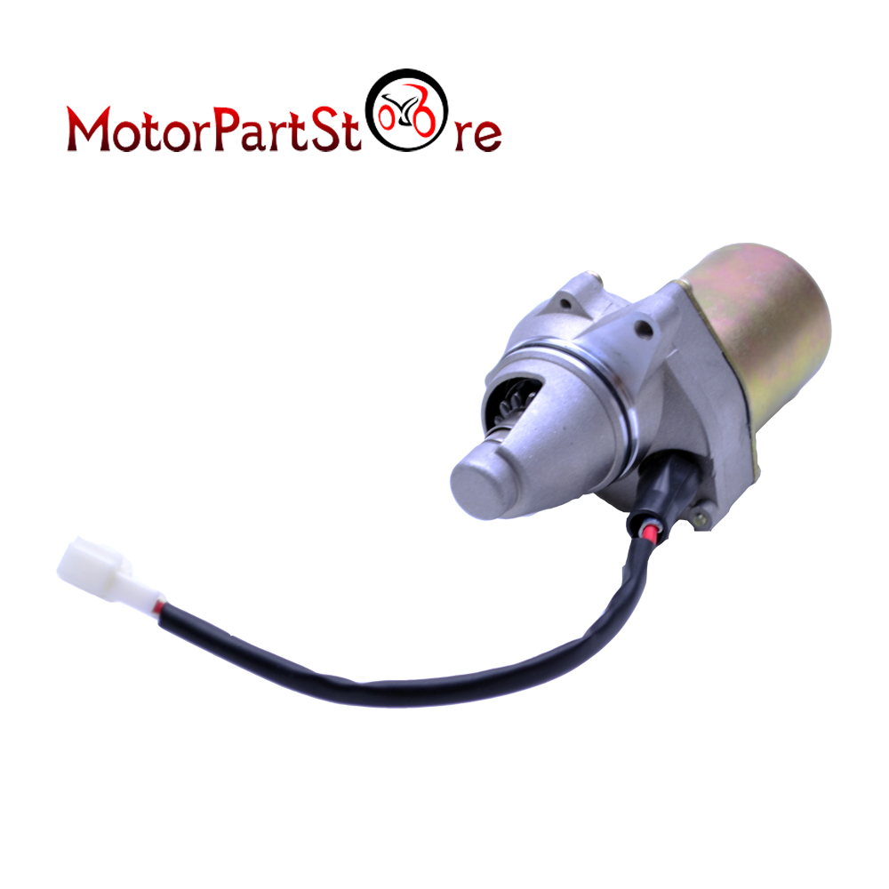 Starter Motor Heavy Duty 12V for Suzuki LT80 LT80 Quadsport ATV Quad 1987-2006 Motorcycle Electric Engine Dirt Bike Part @10 motorcycle scooter atv parts cylinder piston rings gasket engine kit for suzuki lt 80 lt80 1987 2006