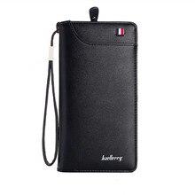 Business Men's fashion Leather Long Wallet (2 colors)