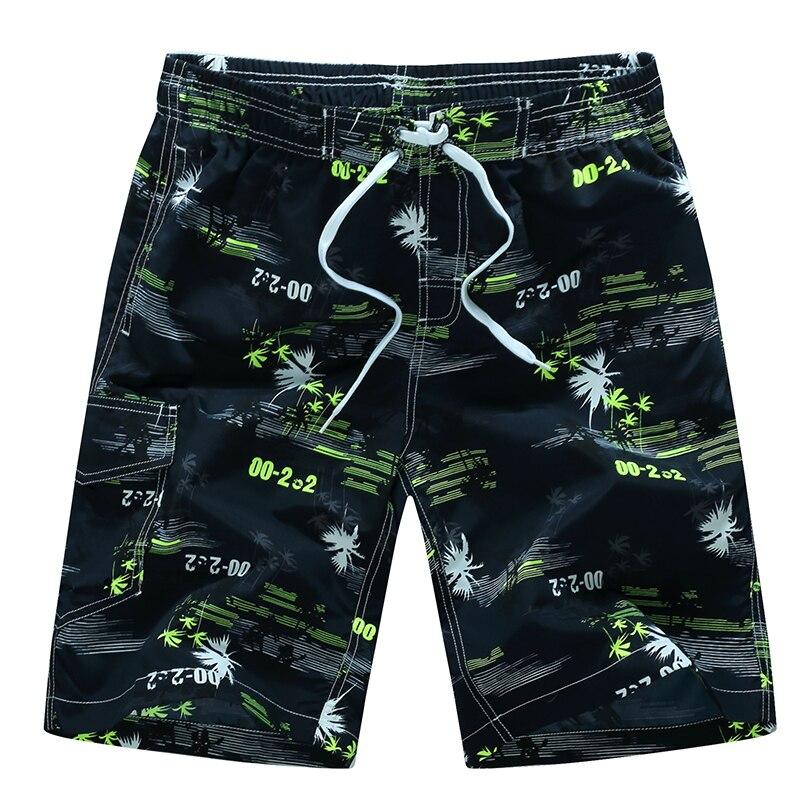 Men Beach Shorts M-6XL Plus Size Swimwear Men Swim Shorts Surf Wear Board Shorts Summer Swimsuit Bermuda Beachwear Trunks Short 2