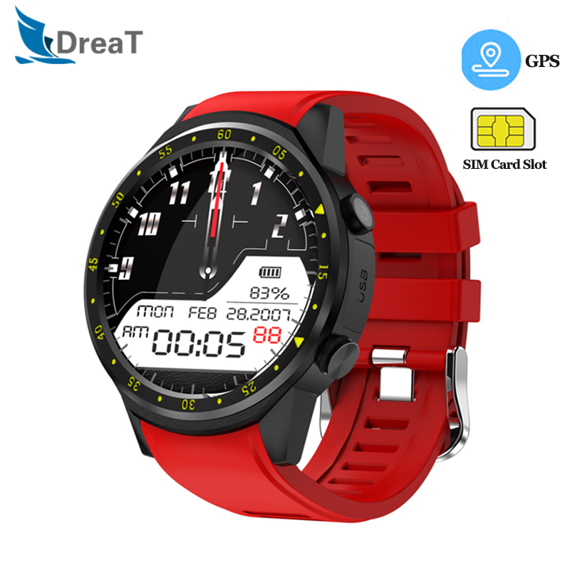 Gps Sensible Watch Males Bluetooth Sport Smartwatch Digicam Coronary heart Fee Monitor With Sim Card Digicam Wristwatch For Android Ios Telephone