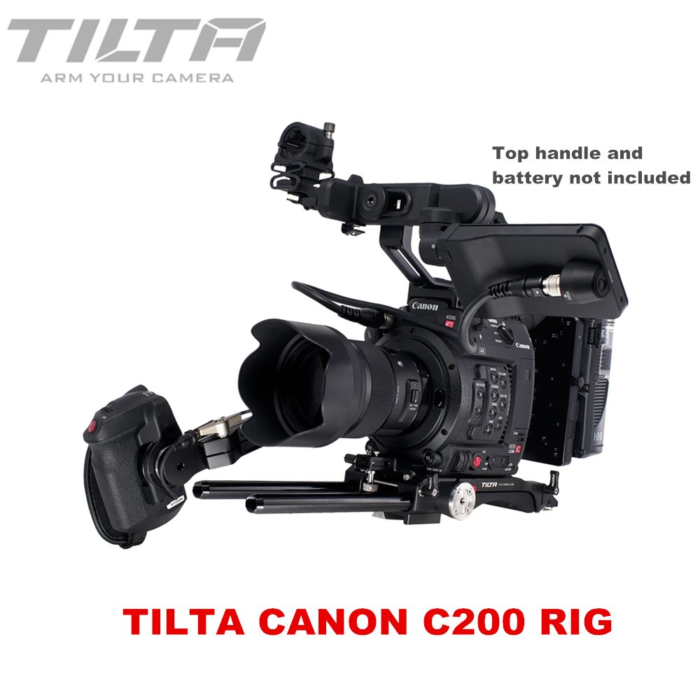 US $487 86 6% OFF|Tilta ES T26 A Rig Kit For CANON C200 Camera Rig Quick  Release Baseplate Extension arm V lock or Anton Mount Plate-in Photo Studio