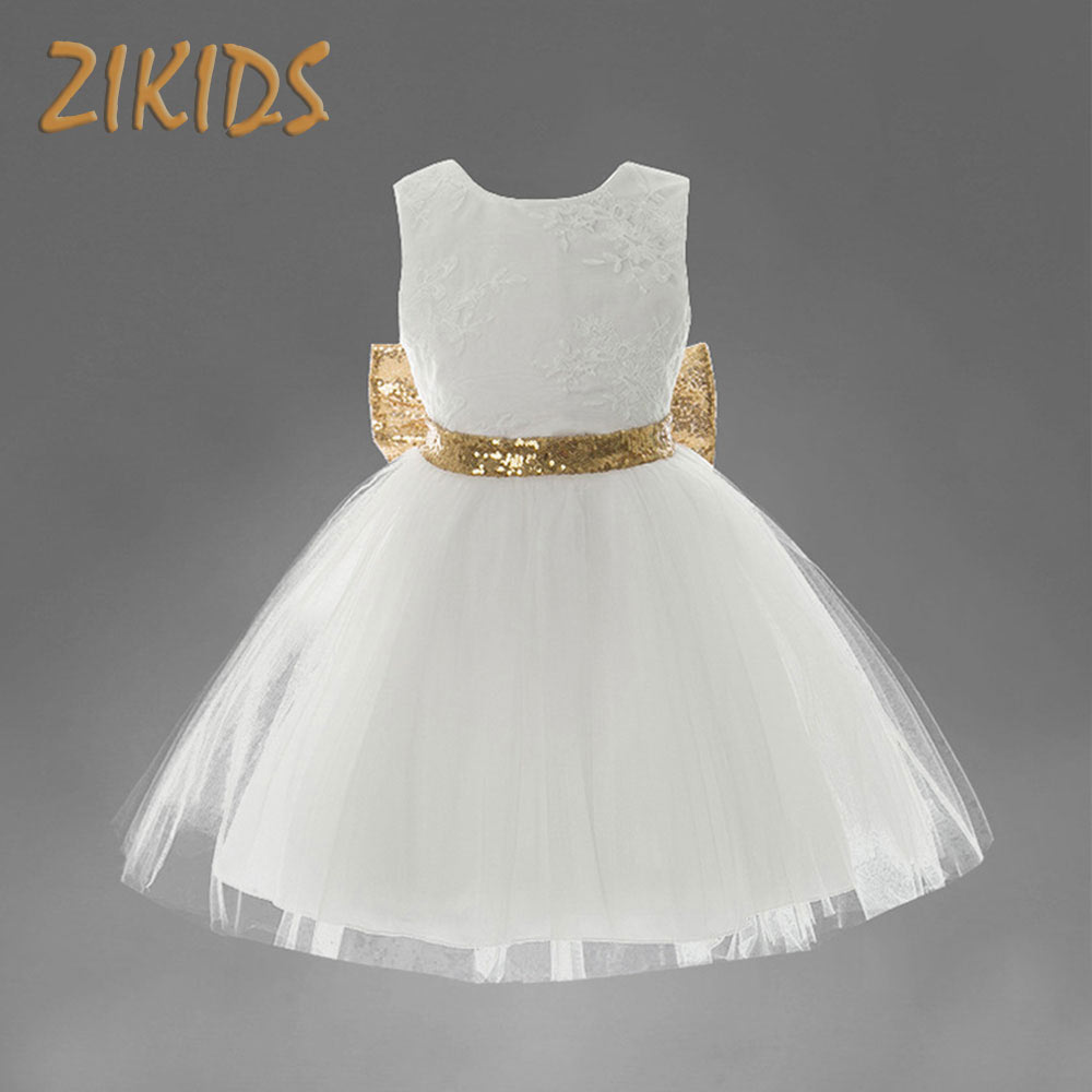 Flowers Baby Girl Dresses for Wedding Party Princess Dress Girls with Sleeveless Ball Gown Kids Summer Clothes Brand Clothing baby girls dress summer 2017 brand girls wedding dress cotton princess dress for girls clothes kids dresses children clothing