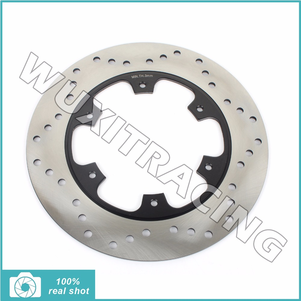 Round Rear Brake Disc Rotor for YAMAHA WR 125 250 426 450 F FP 02-14 03 04 05 06 YZ 125 250 426 450 P F SE Special Edition 02-15 mfs motor motorcycle part front rear brake discs rotor for yamaha yzf r6 2003 2004 2005 yzfr6 03 04 05 gold