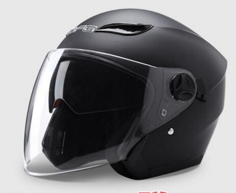 Motorcycle helmet for men and women, electric battery car helmet four seasons summer sun protection helmet