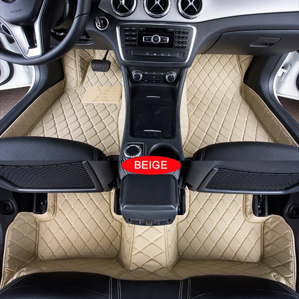 Car floor mats case for porsche cayenne carpets custom fit foot liner mat car rugs