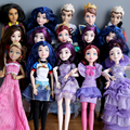 1pcs Original Descendants of the girl doll multi joint movable doll Prince Mulan High Quality Girls Plastic Classic Toys Gifts