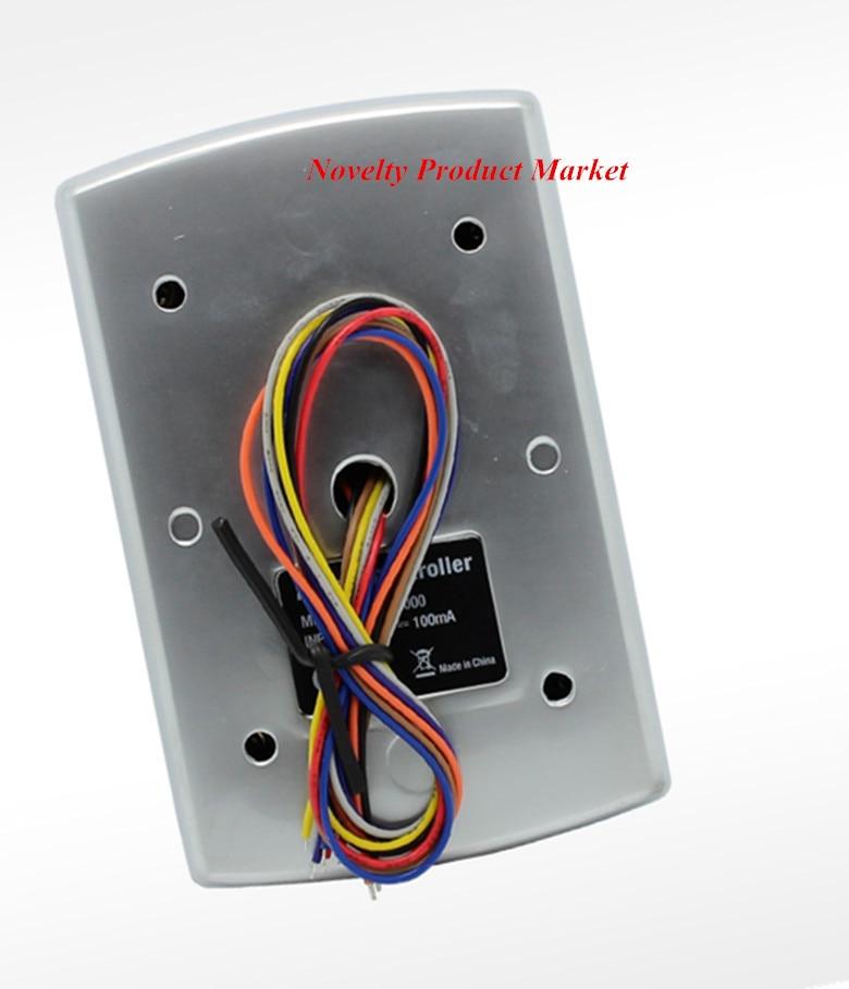 125 Khz Water-Proof 1000 User Door Access Control System Metal Case Door Lock