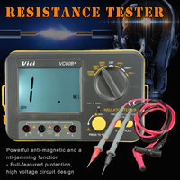 Newest Digital Insulation Resistance Tester Megger MegOhm Meter 250V 500V 1000V