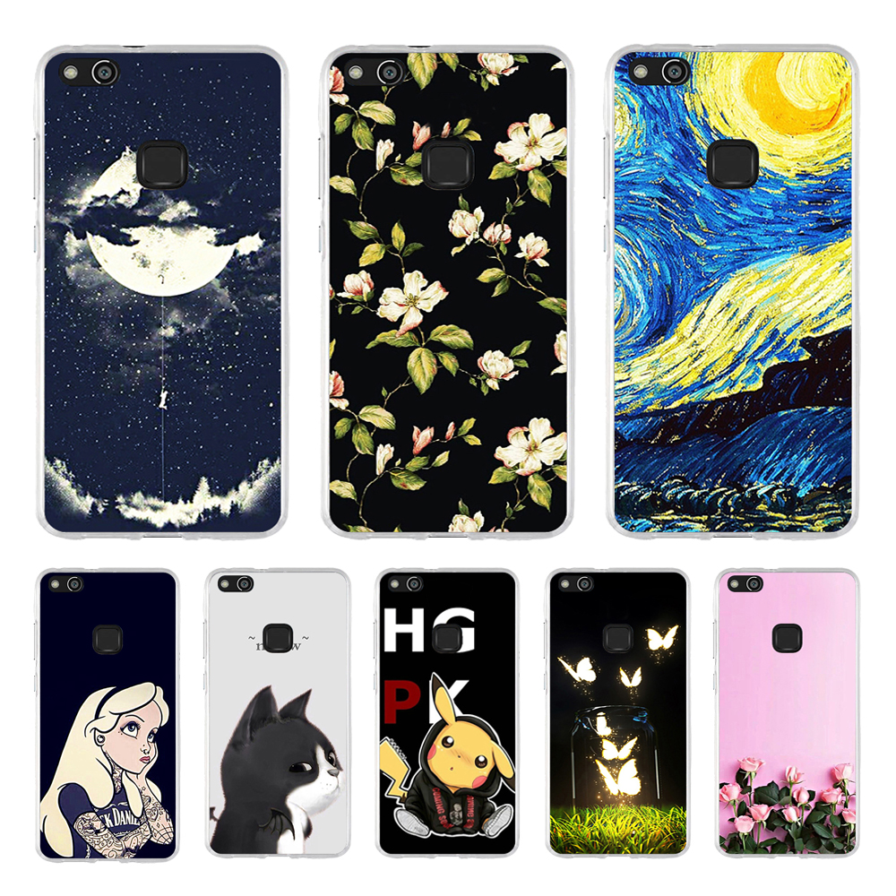 Phone Case Huawei P10 Lite Soft Silicone Cover Huawei P10 Lite TPU Back Case Protector P10lite 5.2