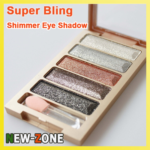 Diamond Super Bling Shining Eye Shadow Palette Party Stage Makeup eyeshadow 5 Colour Cosmetic Brighten Highlighter Shadow