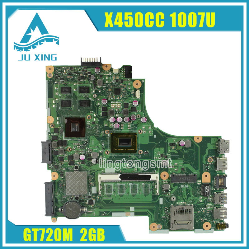 X450CC motherboard X450CC REV2.3 Mainboard Processor 1007u GeForce GT 720M 100% tested wavelets processor