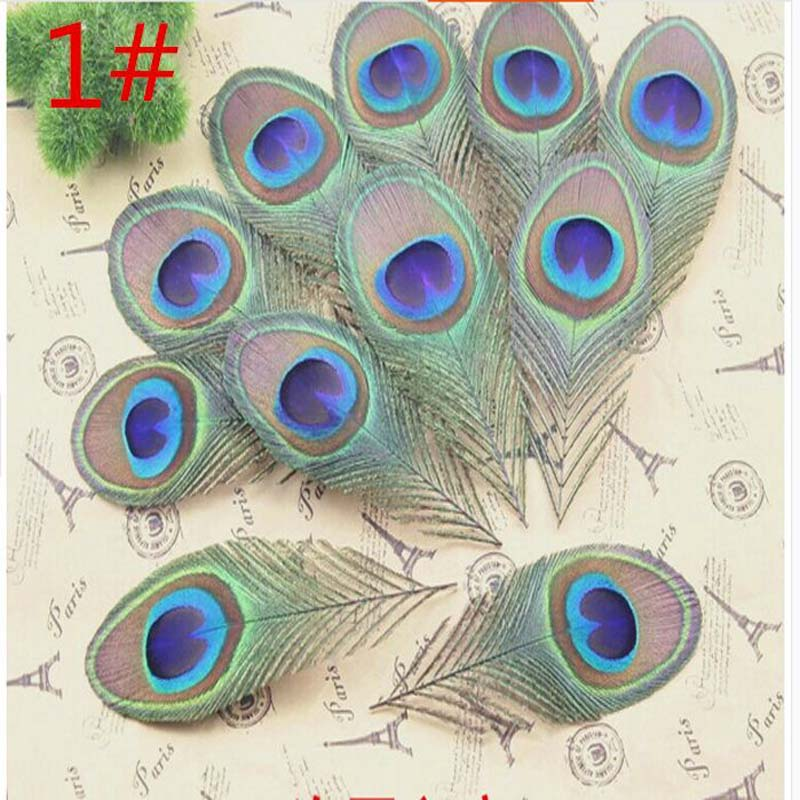 wings of the angel  Wholesale!10-200pcs 8-12 cm feathers peacock eye decoration
