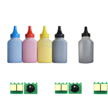 CF210A CF211A CF212A CF213A color toner powder for HP Pro 200 M251n M251nw M276n M276nw (5 bottles powder+5 pcs chip) sakura cf212a yellow тонер картридж для hp laserjet pro 200 color m251nw m251n m276n m276nw