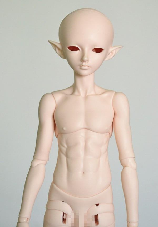 Bjd poupée mini-carte sd mâle poupée elf assassin 1/4 Bjd Poupée