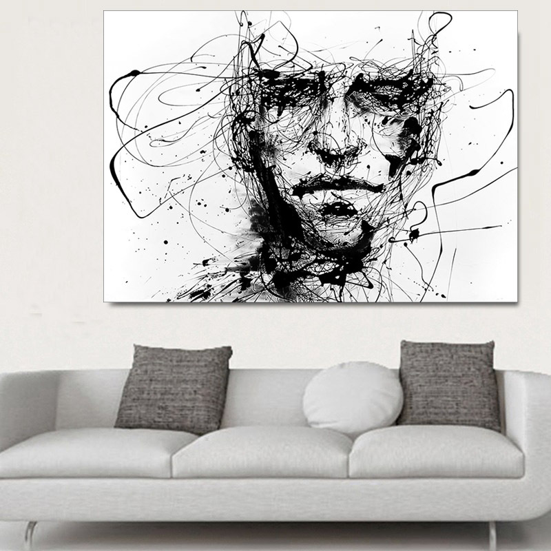 Modern-Canvas-Painting-Black-White-Line-Figure-Abstract-Art-Prints-Poster-home-decoration-accessories-Wall-Decor (2)