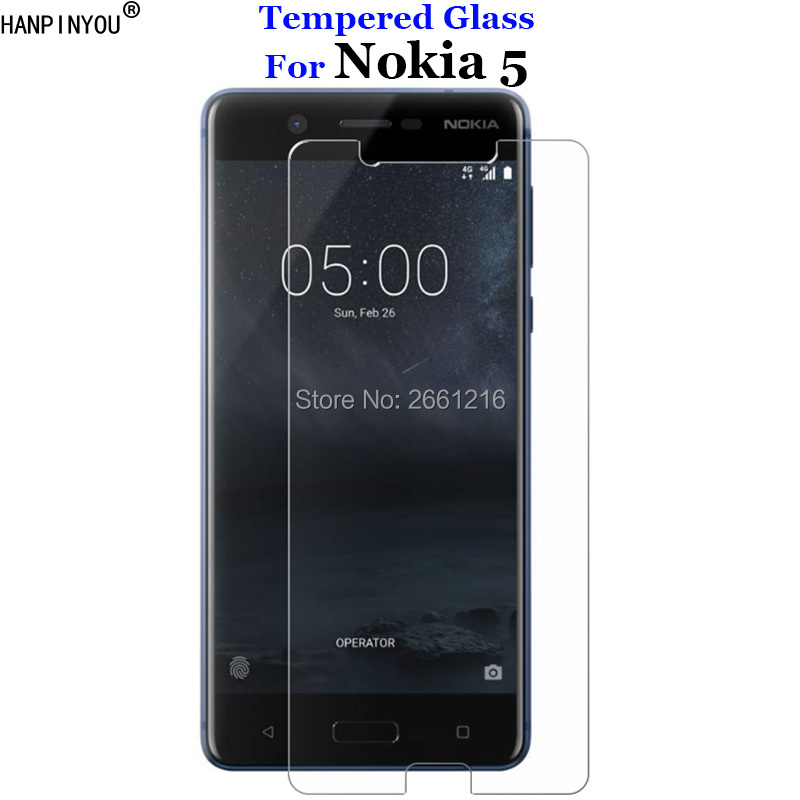 For <font><b>Nokia</b></font> 5 (2017) TA-1024 TA-1027 TA-1044 TA-<font><b>1053</b></font> Tempered Glass 9H 2.5D Premium Screen Protector Film For Nokia5 5.2