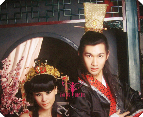 Male cosplay costume hair accessory hanfu cos hair crown male costume crownpiece cap
