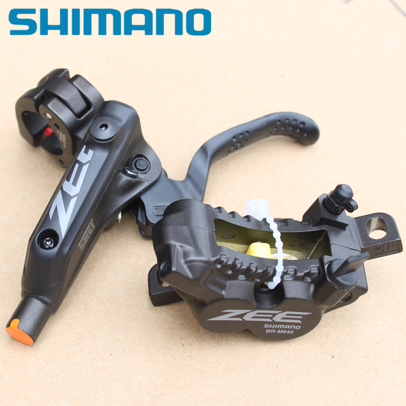 shimano zee br m640 review