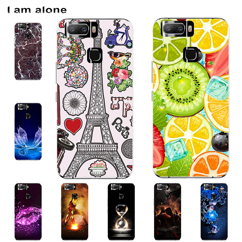 I Am Alone Phone Cases For Leagoo S8 S8 Pro Solf TPU Fashion Cute Color Paint Mobile For Leagoo S8 S8 Pro Bags Shipping Free