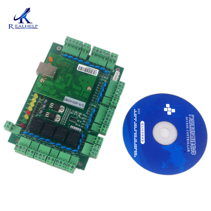 UHF Access Control Board Ethernet TCP IP 4 Door 4 reader Access Control Panel Standalone Network