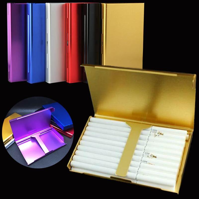 Storage Container Cigarette-Box Smoking-Accessories 66 20 Aluminum XB Ladies Ultra-Thin