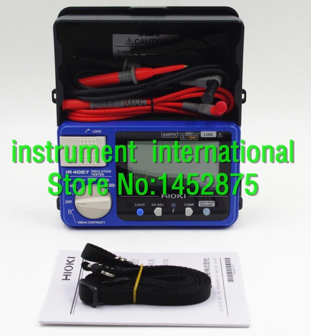 Hioki Digital Ir4056 20 M Ohm Hitester Spec Dan Daftar Harga Earth Hi Tester 3151 Ir4057 5 Range 50 To 1000v Insulation Resistance New