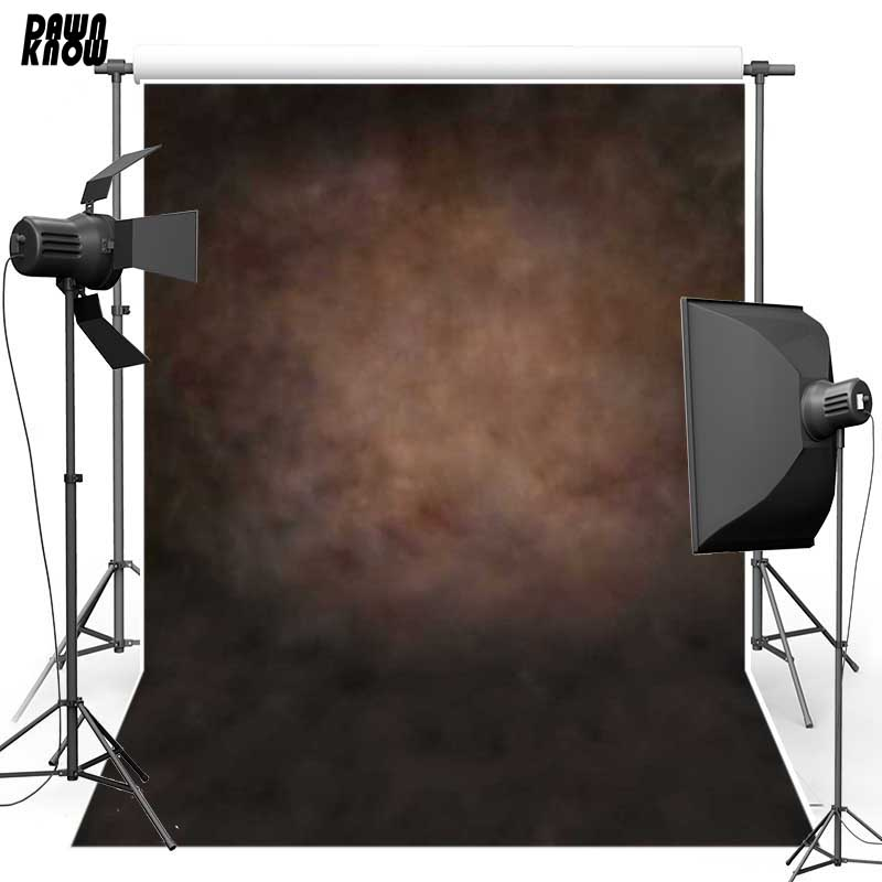 DAWNKNOW Vinyl Photography Background Vintage Brown Texture wall Polyester Backdrops For Pregnancy Photo Studio S1941 huayi 10x20ft wood letter wall backdrop wood floor vinyl wedding photography backdrops photo props background woods xt 6396
