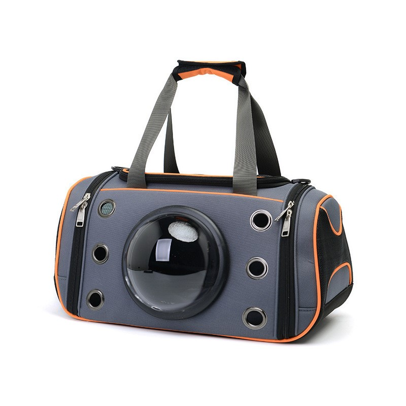 Null Space Shaped Pet Carriers Bags Breathable Sling Hand Bag Outside Travel Bags For Small Pet Cat Dog Pet Supplier carrier