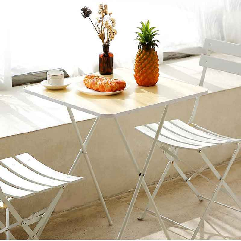 Folding Table Dining Table Rental Room Home Small Apartment Dining Table Round Square Table Simple Simple Square