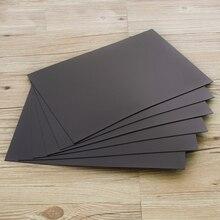 1 шт. мягкая резиновая Магнитная листовая доска 0,5 мм для рекламных выставок штампы/ремесло сильные тонкие и гибкие 297x210 мм