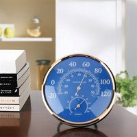 Large Round Thermometer Hygrometer Temperature Humidity Monitor Meter Gauge T0 2