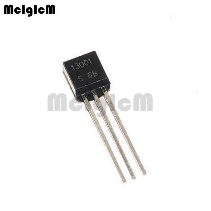 MCIGICM 5000pcs in line triode transistor TO 92 0 2A 400V NPN MJE13001