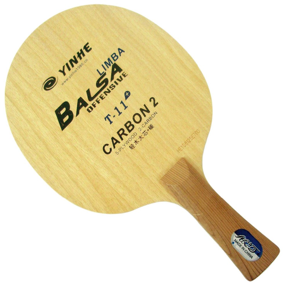 Yinhe Melkweg T 11 + T 11 + T11 + tafeltennis pingpong blade-in Tafeltennisrackets van sport & Entertainment op Happy Shopping 365days