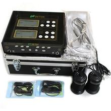 Dual user Detox Machine Ion Cleanse Ionic Detox Foot Bath Aqua Cell Spa Machine Footbath Far Infrared Massage Detox Foot Bath