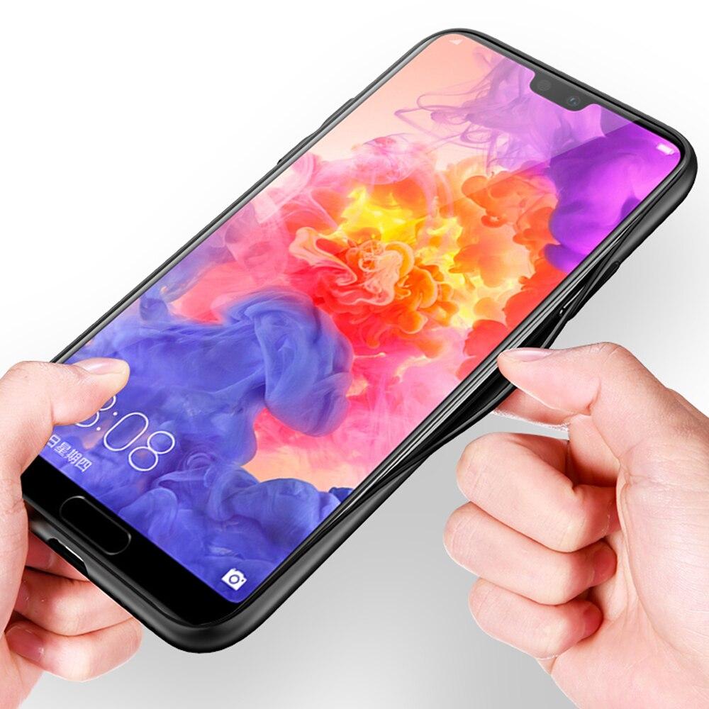 Case Cover For Huawei Honor P20 Mate 20 10 P10 P9 P8 8x 9 Lite P Smart Half-wrapped Case Plus 2017 2019 Nova 3i Clear Beautiful Puzzle