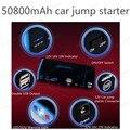 50800 MAH Car jump starter Mini Portable Car Jump Starter Emergency Start 12V  Engine Multi-Function 2 USB Power Bank Charger