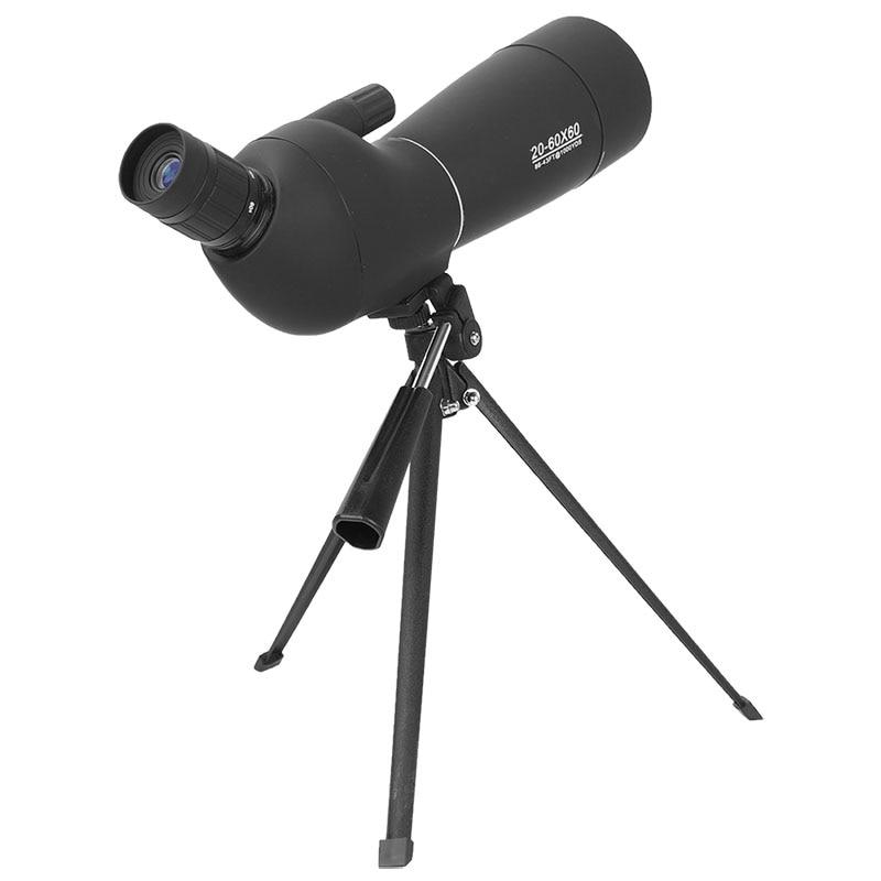 AOMEKIE 20-60X60 Zoom Spotting Scope con trípode HD Óptica Prisma - Caza - foto 5