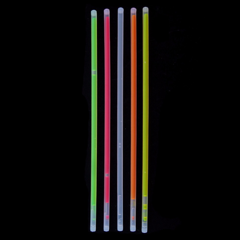 200 st 20 cm Glödstift Armband Halsband Neon Colors Party Bag - Festlig belysning - Foto 2