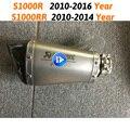 Выхлопная труба мотоцикла S1000R  Модифицированная выхлопная труба  слипоны для BMW S1000RR 2015-2017 S1000RR 2010-2016  углеродный глушитель 60 мм  DB Killer
