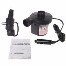 Electric Air Pump Portable Air Mattress Pump Inflator Deflator For Inflatables DC 12V High Pressure