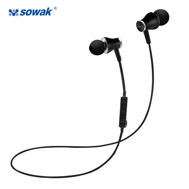 Brand Wireless Earphones Sowak S11 In ear Sport Running Bluetooth Stereo Headset With Mic For Xiaomi Android phone 3d photo wallpaper custom room mural non woven wall sticker oil painting texture hight mountain painting 3d wall mural wallpaper