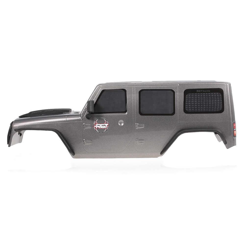 RGT кузова автомобиля для 1:10 RGT 86100 HSP HPI Traxxas Redcat RC4WD Tamiya Jeep Wrangler RC Гусеничный Автомобили DIY