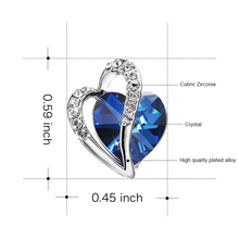 Crystal From Swarovski Earrings for Women Jewelry 925 Sterling Sliver